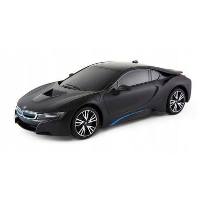 BMW i8 1:18 26cm távirányítós modell autó Rastar 59200 RTR modellautó - fekete