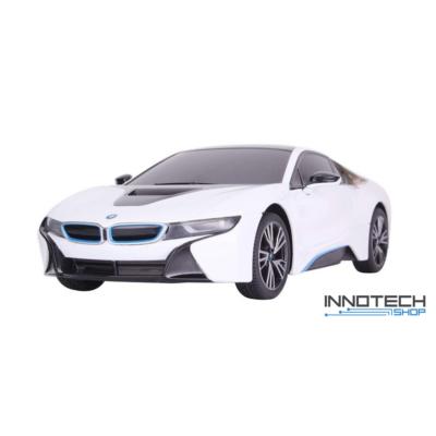 BMW i8 1:18 26cm távirányítós modell autó Rastar 59200 RTR modellautó - fehér