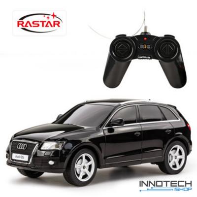 Audi Q5 1:24 19,4cm távirányítós modell autó Rastar 38600 RTR modellautó - fekete