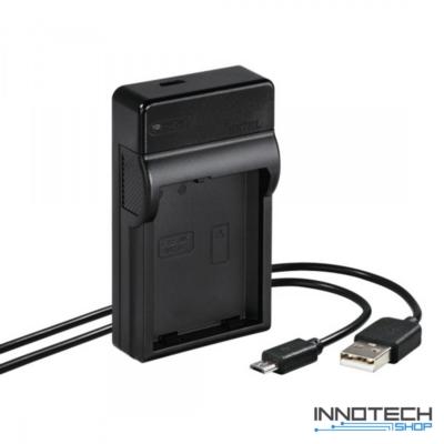Hama Travel usb akkumulátor töltő - Nikon EN-EL14/14A akku töltő (81386)