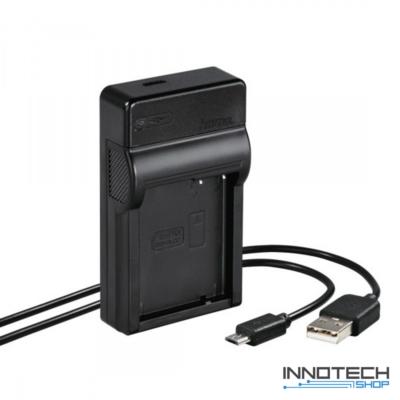 Hama Travel usb akkumulátor töltő - Panasonic DMW-BLC12 akku töltő (81388)