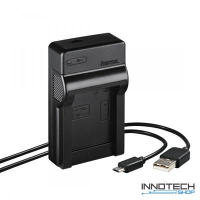 Hama Travel usb akkumulátor töltő - Nikon EN-EL12 akku töltő (81391)