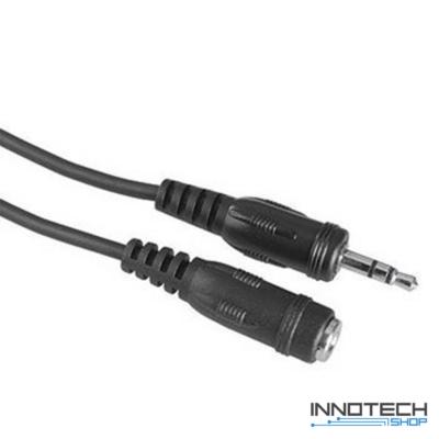 Hama ST Eco 3,5mm jack audio hosszabbító kábel 5,0m (30449)