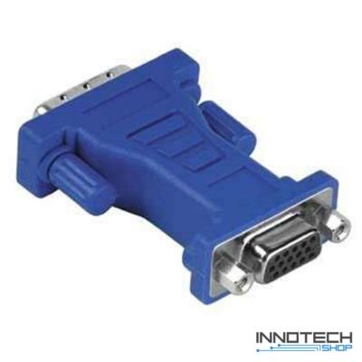 Hama adapter dvi dugó - vga adapter aljzat átalakító (45073)