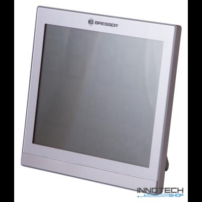 Bresser TemeoTrend JC LCD RC időjárás állomás (falióra), ezüst - 73269