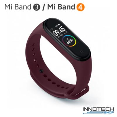 Xiaomi Mi Band 3/4 pót pánt - BURGUNDY