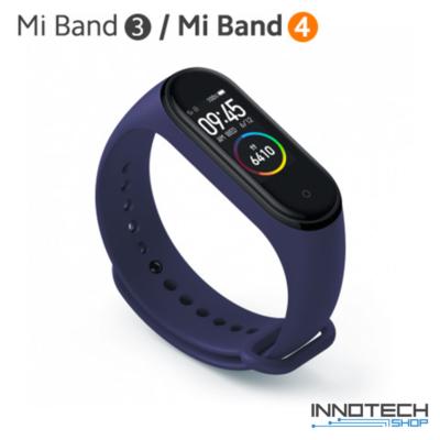 Xiaomi Mi Band 3/4 pót pánt - KÉK