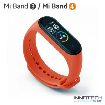 Xiaomi Mi Band 3/4 pót pánt - NARANCS