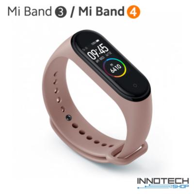 Xiaomi Mi Band 3/4 pót pánt - PINK