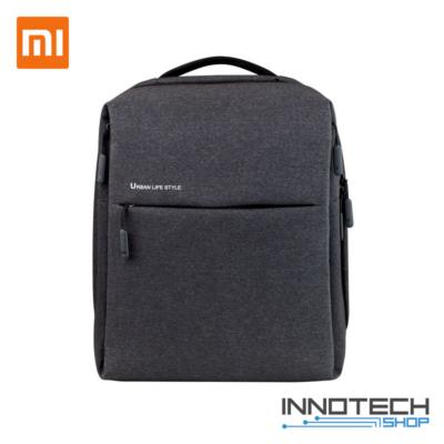 """Xiaomi Mi City Minimalist Urban Backpack - 14"""" notebook laptop táska hátizsák - sötétszürke"""