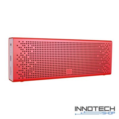 Xiaomi Mi Bluetooth Speaker - hordozható bluetooth hangszóró hangfal - piros (MDZ-26-DB MDZ-15-DA (US)) (XMMIBTSPKUSR)
