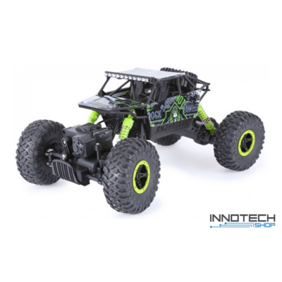 Rock Crawler HB-P1803 Buggy 4WD 10km/h sebességű 1:18 28cm RC távirányítós autó (magyar útmutatóval Off Road 10 km/h) - zöld