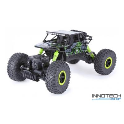 Rock Crawler HB-P1803 Buggy 4WD 10km/h sebességű 1:18 28cm RC távirányítós autó (magyar útmutatóval Off Road 10 km/h Ni-Cd) - zöld