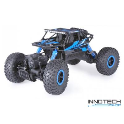 Rock Crawler HB-P1802 Buggy 4WD 10km/h sebességű 1:18 28cm RC távirányítós autó (magyar útmutatóval Off Road 10 km/h) - kék
