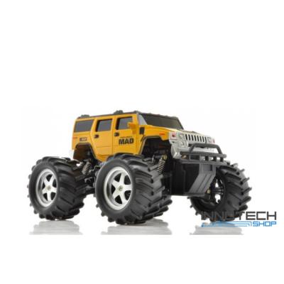 NQD Mad Monster Truck Off Road távirányítós autó 2WD 15km/h sebességű 1:16 21,5cm RC (15 km/h játék autó) - arany