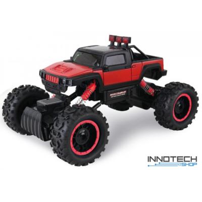 Rock Crawler HB-P1404 Off Road Buggy Hummer 4WD 15km/h sebességű 1:14 33cm RC távirányítós autó (15 km/h HB-P1404 versenyautó) - piros