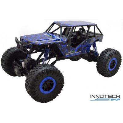 Rock Crawler HB-P1002 1:10 Off Road Buggy óriás szikla mászó autó 4WD 15km/h 3.1kg 41cm RC távirányítós autó (15 km/h HB P1002) - kék - BEMUTATÓ DARAB
