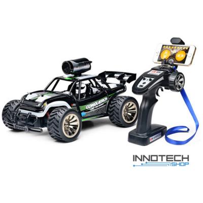 Subotech BG1516 HD FPV Wifi kamerás RC távirányítós játék autó 1:16 31cm RTR homokfutó versenyautó 2.4GHz - fekete