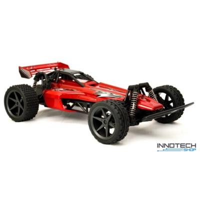 Huanqi 543(02) RC Buggy 2WD 15km/h sebességű 1:18 34cm távirányítós játék autó (HQ 543 02 versenyautó) - piros