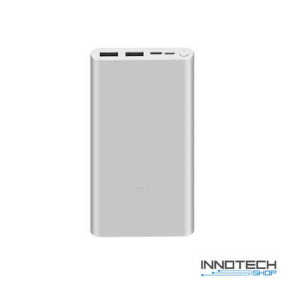 Xiaomi Mi 18W Fast Charger Powerbank 3 – 10000 mAh usb power bank - ezüst (XM10KMI18WFCPB3S)