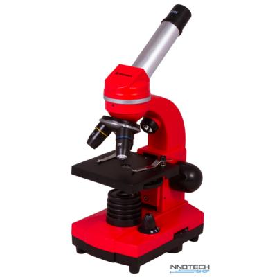 Bresser Junior Biolux SEL 40–1600x mikroszkóp, piros - 74320