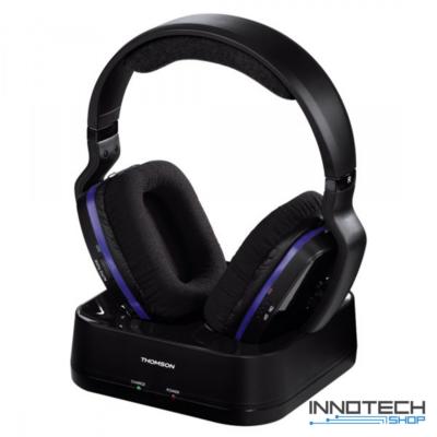Thomson WHP3311B vezeték nélküli fejhallgató - fekete (131959)