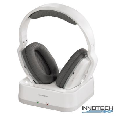 Thomson WHP3311W vezeték nélküli fejhallgató - fehér (131960) - BEMUTATÓ DARAB!