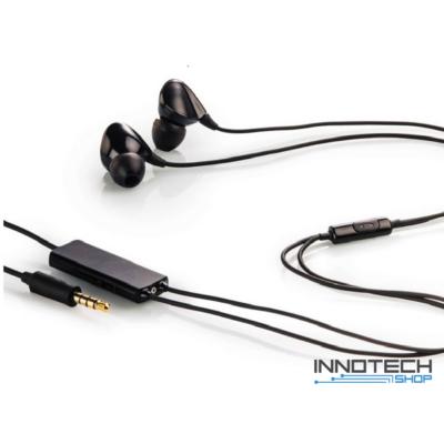 Thomson EAR 3227 IN-EAR fülhallgató és mikrofon headset - fekete (132493)