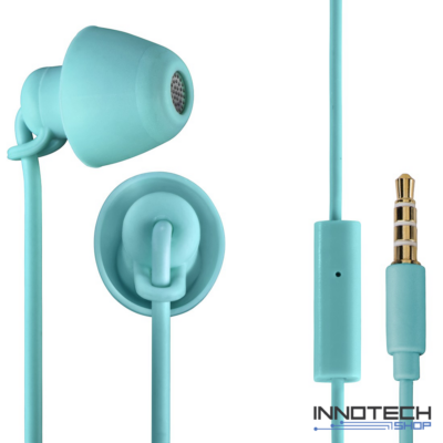 Thomson EAR 3008 LTR IN-EAR piccolino fülhallgató és mikrofon headset - türkiz (132635)