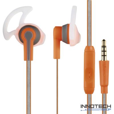 Hama Reflective Sport fülhallgató headset - narancs (177018)