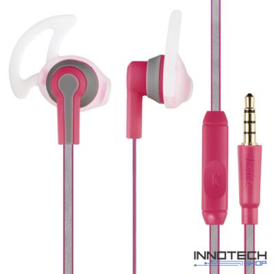 Hama Reflective Sport fülhallgató headset - pink (rózsaszín) (177019)
