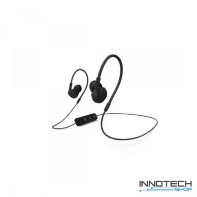 Hama CLIP-ON stereo bluetooth sport headset fülhallgató - fekete (177094)