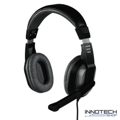 Hama Offbeat pc headset fejhallgató mikrofonnal (53983)