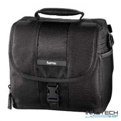 Hama Ancona 130 fotós táska 20x11x17 cm fekete (103906 fotóstáska)