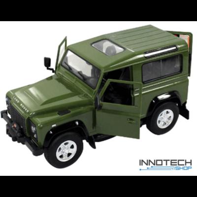 Land Rover Defender 1:14 29cm távirányítós modell autó Rastar 78400 RTR modellautó - zöld