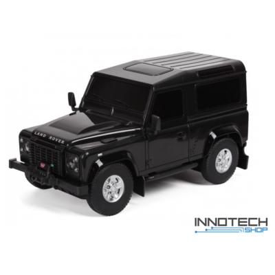 Land Rover Defender 1:24 17cm távirányítós modell autó Rastar 78500 RTR modellautó - fekete