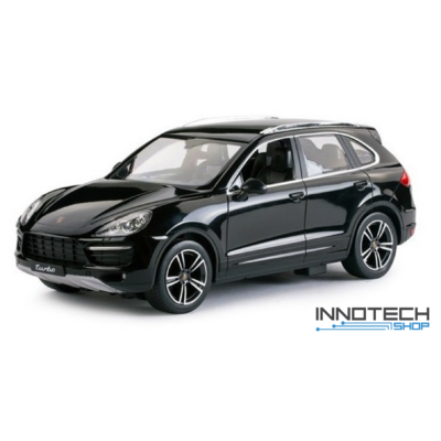 Porsche Cayenne Turbo 1:14 34,6cm távirányítós modell autó Rastar 42900 RTR modellautó - fekete