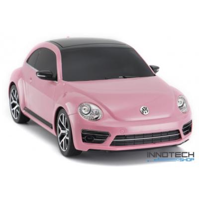 Volkswagen Beetle 1:14 30,6cm távirányítós modell autó Rastar 78000 RTR modellautó - rózsaszín
