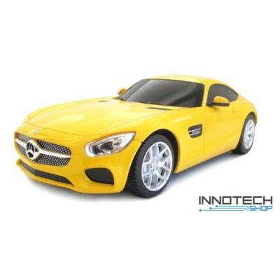 Mercedes-AMG GT 1:24 18,9cm távirányítós modell autó Rastar 72100 RTR modellautó - sárga