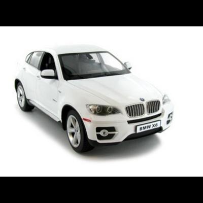 BMW X6 1:14 35cm távirányítós modell autó Rastar 31400 RTR modellautó - fehér