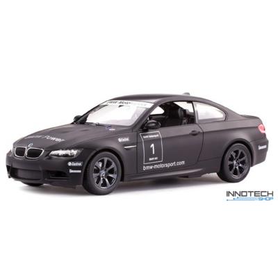 BMW M3 1:14 33cm távirányítós modell autó Rastar 48000 RTR modellautó - fekete