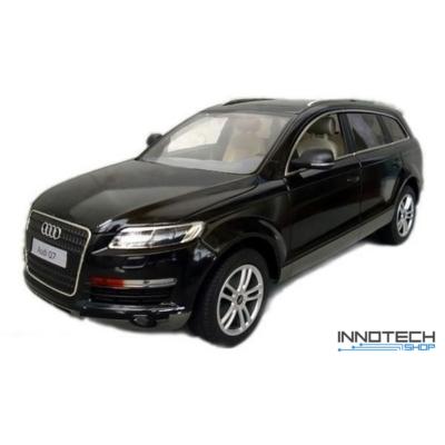 Audi Q7 1:14 36,3cm távirányítós modell autó Rastar 27400 RTR modellautó - fekete