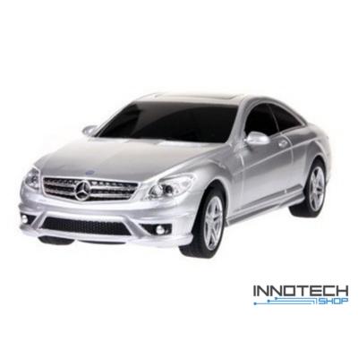 Mercedes-Benz CL63 AMG 1:24 21,1cm távirányítós modell autó Rastar 34200 RTR modellautó - ezüst