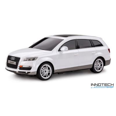 Audi Q7 1:24 21,3cm távirányítós modell autó Rastar 27300 RTR modellautó - fehér