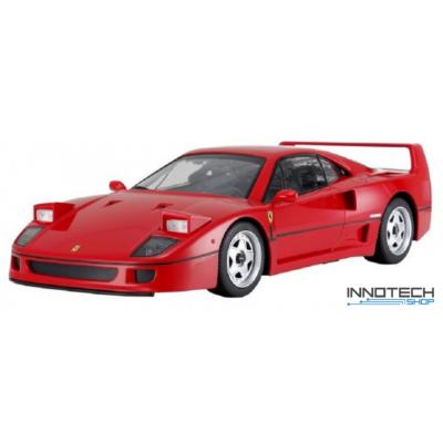 Ferrari F40 1:24 18cm távirányítós modell autó Rastar 78800 RTR modellautó - piros