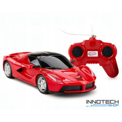 Ferrari LaFerrari 1:24 26,5cm távirányítós modell autó Rastar 48900 RTR modellautó - piros