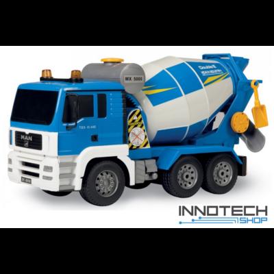 MAN betonkeverő teherautó 37 cm 1:20 távirányítós RC játék munkagép Double Eagle E518-003 RTR EE Double E
