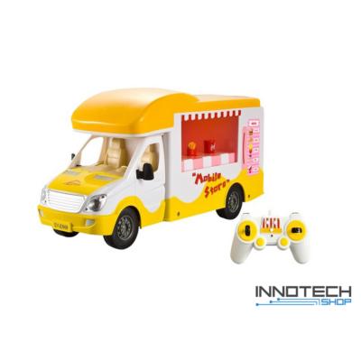 Távirányítós mobil bolt büfé kocsi játék autó 33,5 cm 1:18 Double Eagle E668-003 RTR EE Double E