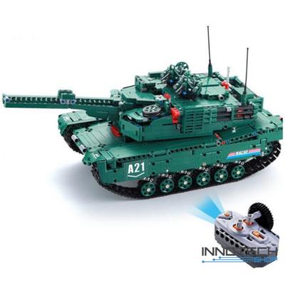 Double Eagle profi távirányítós kirakós játék tank (1498 db, 46 cm) 2 féle építőkocka szett egyben EE Double E (C61001W) (lego technic kompatibilis)