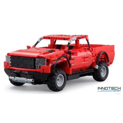Double Eagle kirakós távirányítós terepjáró pickup autó (549 db, 32.8 cm 2.4GHz) RC építőkocka játék szett EE Double E CaDa (C51005W) (lego technic kompatibilis)